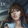 DEFINITELY NOT KANSAS. That's what the teaser image from Zenescope's new OZ series states, promising...