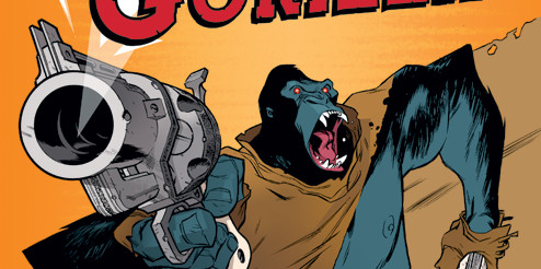 BOOM! STUDIOS REVEALS SIMON SPURRIER'S SIX – GUN GORILLA IN STORES IN JUNE view full...