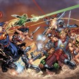 DC has announced that the heroes of the DCU and the MASTERS OF THE UNIVERSE...