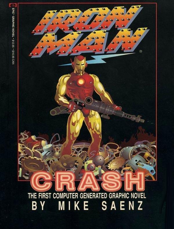 Iron Man Crash InvestComics