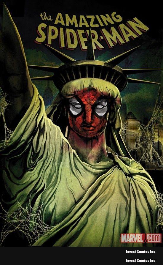 MANHATTAN to become SPIDER-ISLAND!