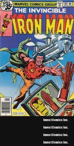 Iron Man #118