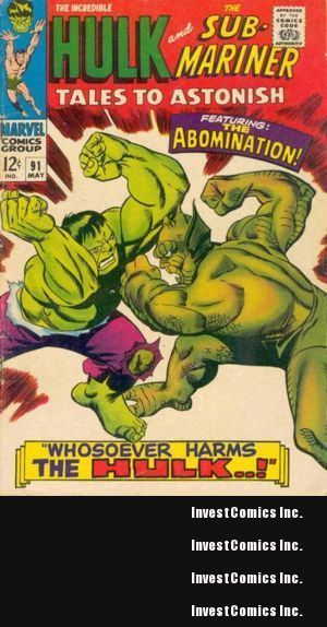 1st Appearance of Abomination