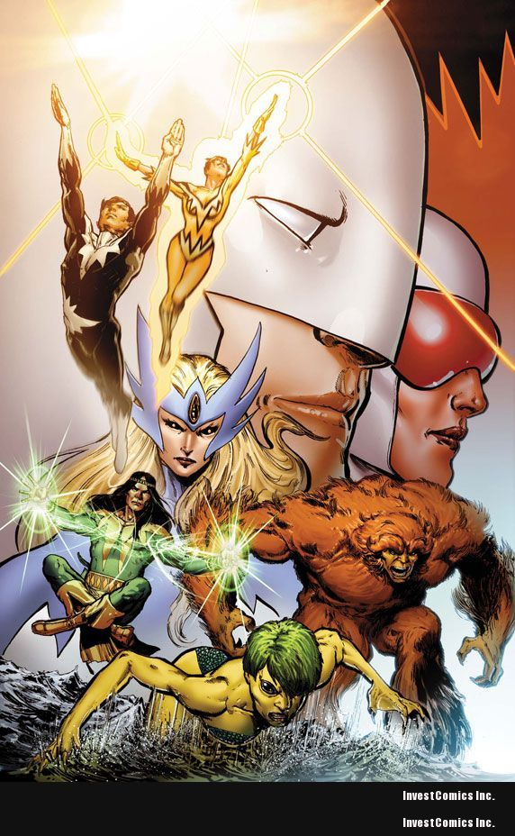 Your First Look At ALPHA FLIGHT #0.1