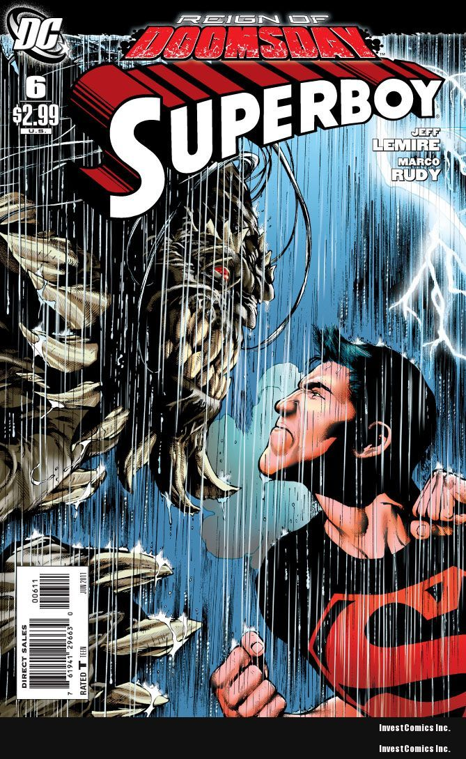 SUPERBOY #6 PREVIEW