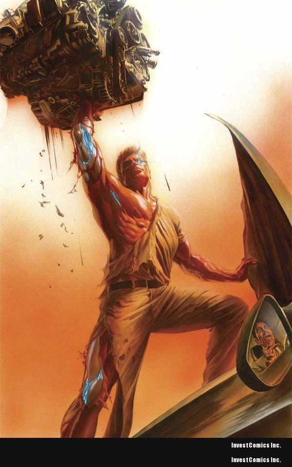 "Kevin Smith & Dynamite present ""SIX MILLION DOLLAR"" comics"