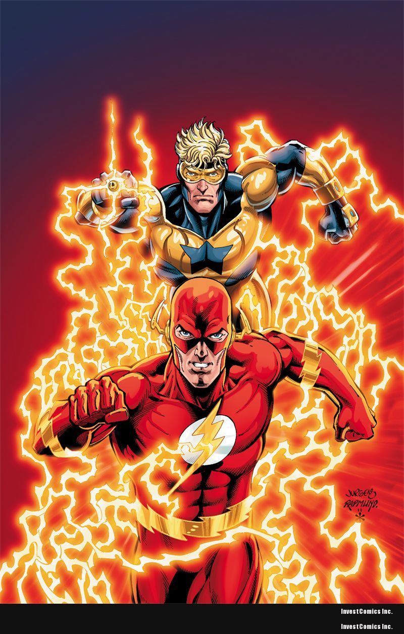 DC'S FLASHPOINT AUGUST SOLICITS