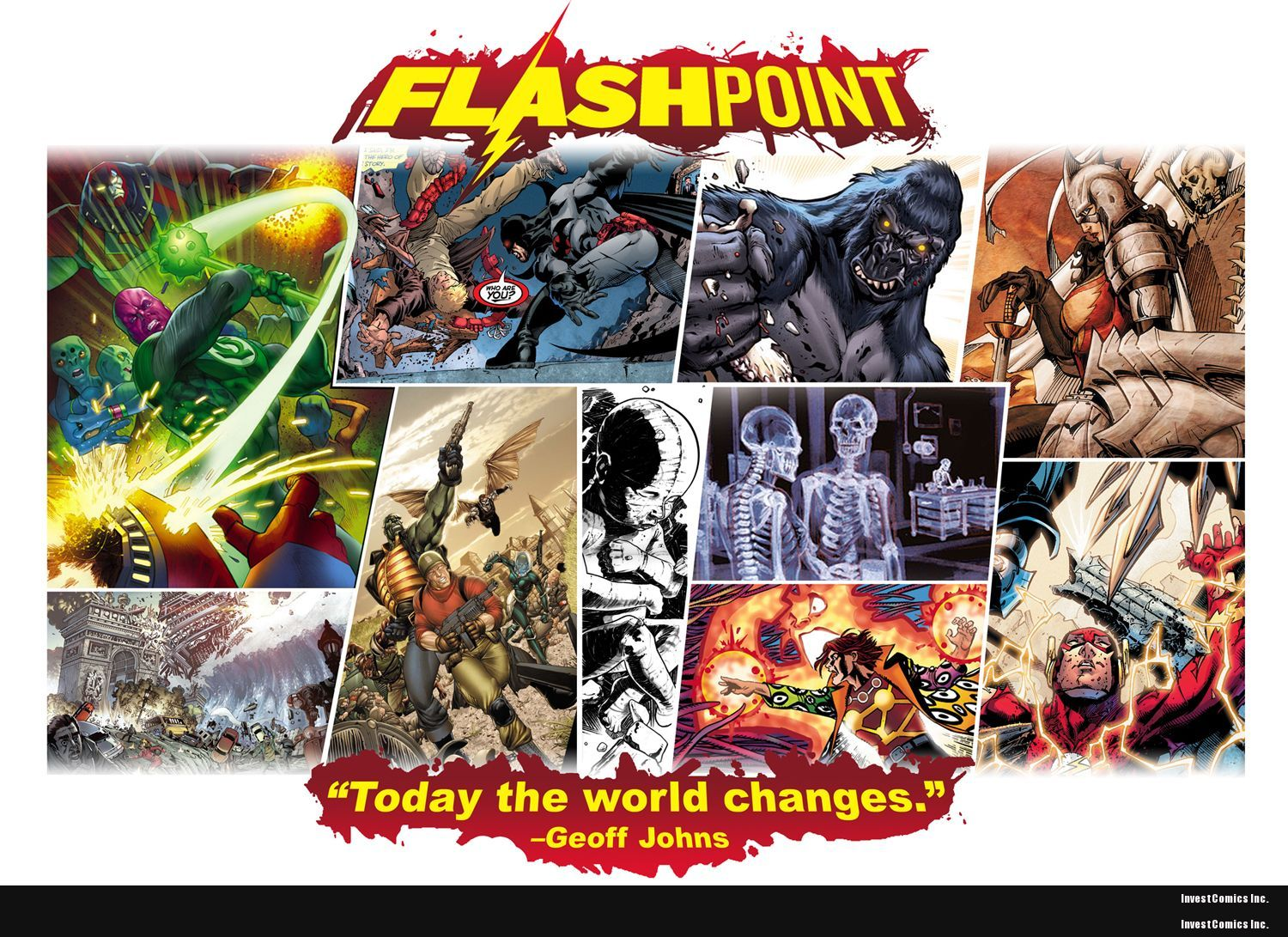 """FLAHPOINT """"Today the world changes"""" -GEOFF JOHNS"""