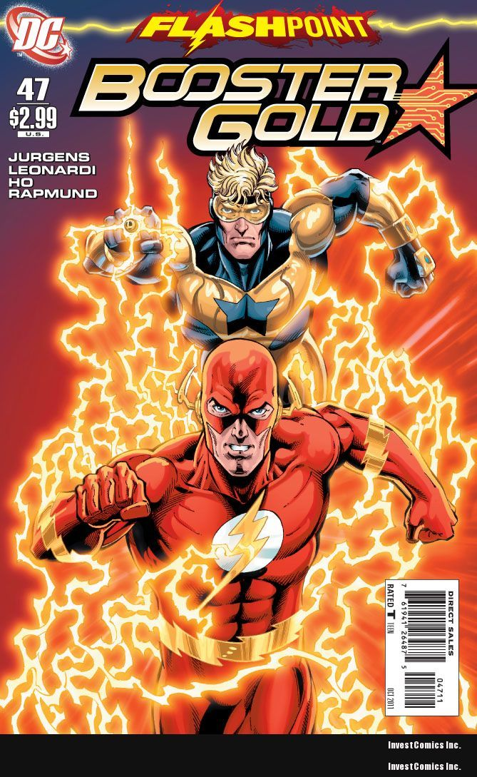 The LAST ISSUE of BOOSTER GOLD