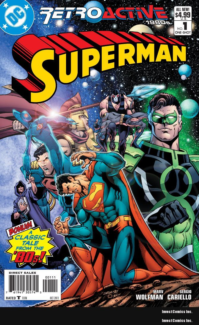 DC RETROACTIVE: SUPERMAN – THE '80S PREVIEW
