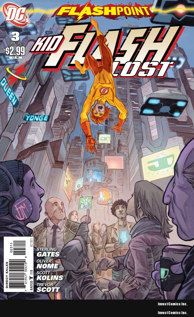 FLASHPOINT: KID FLASH LOST #3 PREVIEW