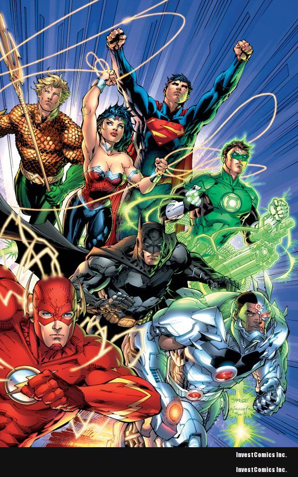 Geoff Johns & Jim Lee reveal the DCnU JUSTICE LEAGUE's first big bad