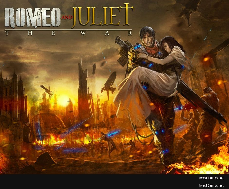 Stan Lee's POW! Entertainment and 1821 Comics Romeo and Juliet: The War to debut at New York Comic Con