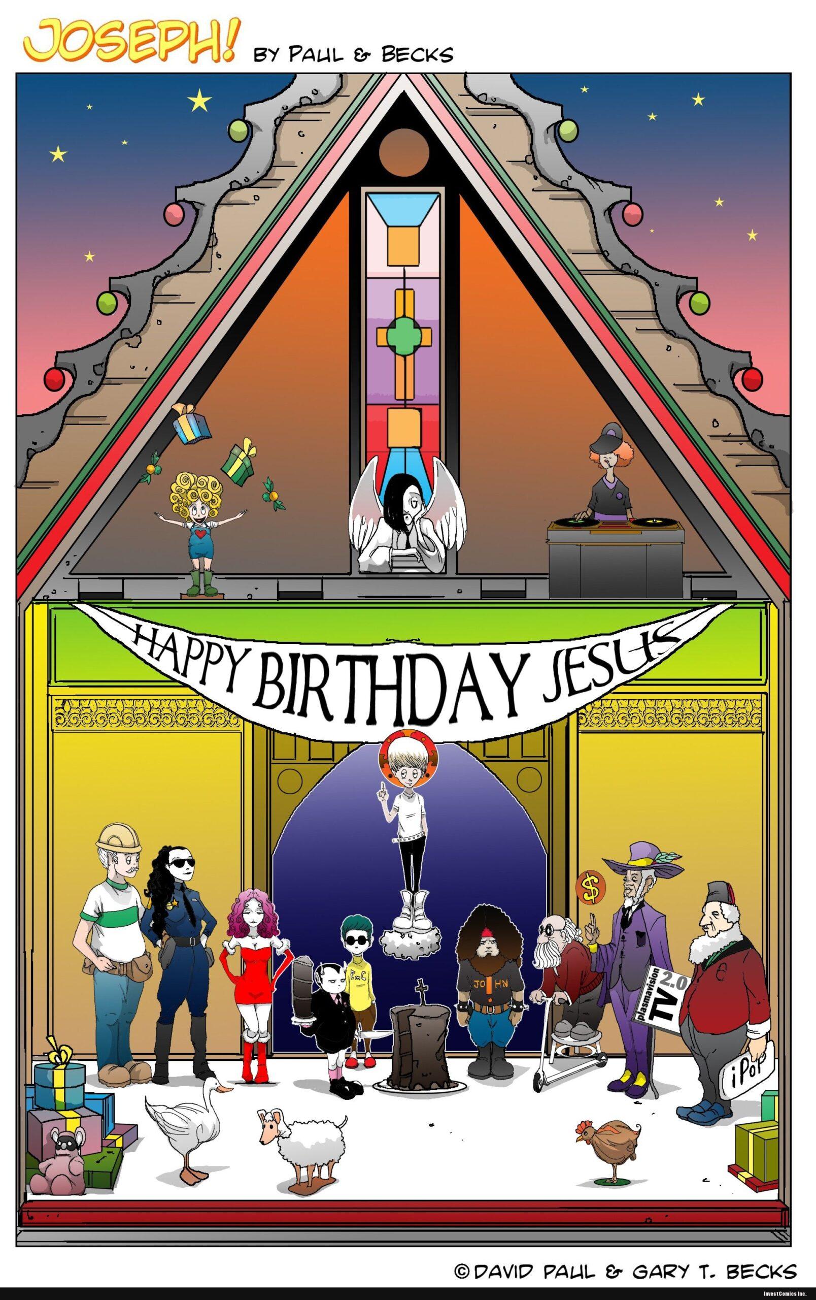 Dec. 23rd. HAPPY BIRTHDAY, JESUS!