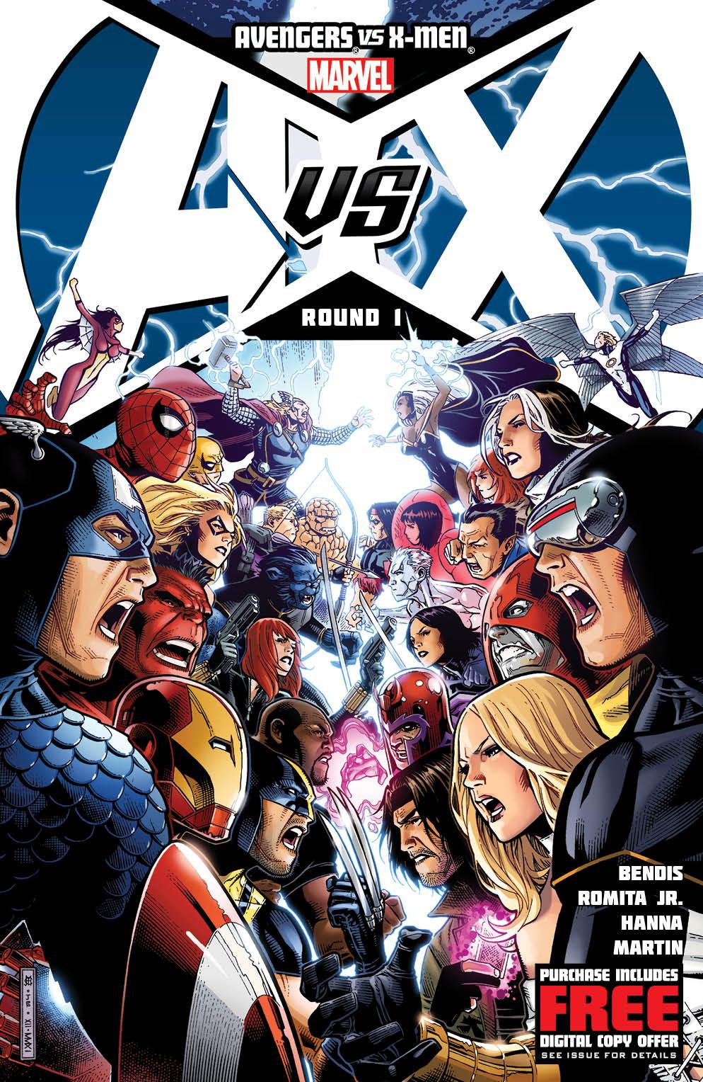 Marvel Unveils Cover To AVENGERS VS. X-MEN #1
