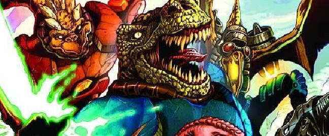 Zenescope – Jurassic Strike Force 5