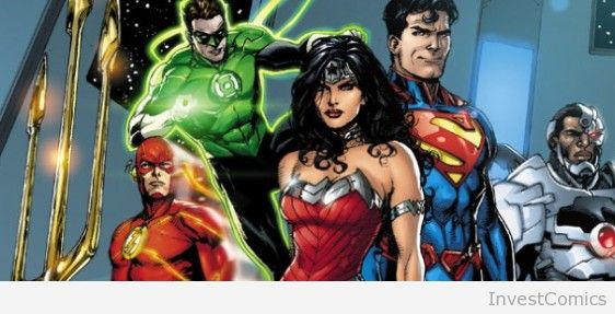 Exclusive first look at JUSTICE LEAGUE #7