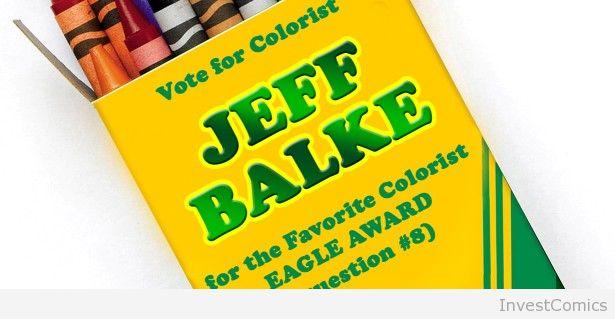 Jeff Balke Nominated for Eagle Award. Vote Now!