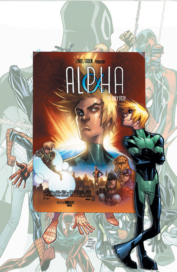 Introducing ALPHA in AMAZING SPIDER-MAN #692!