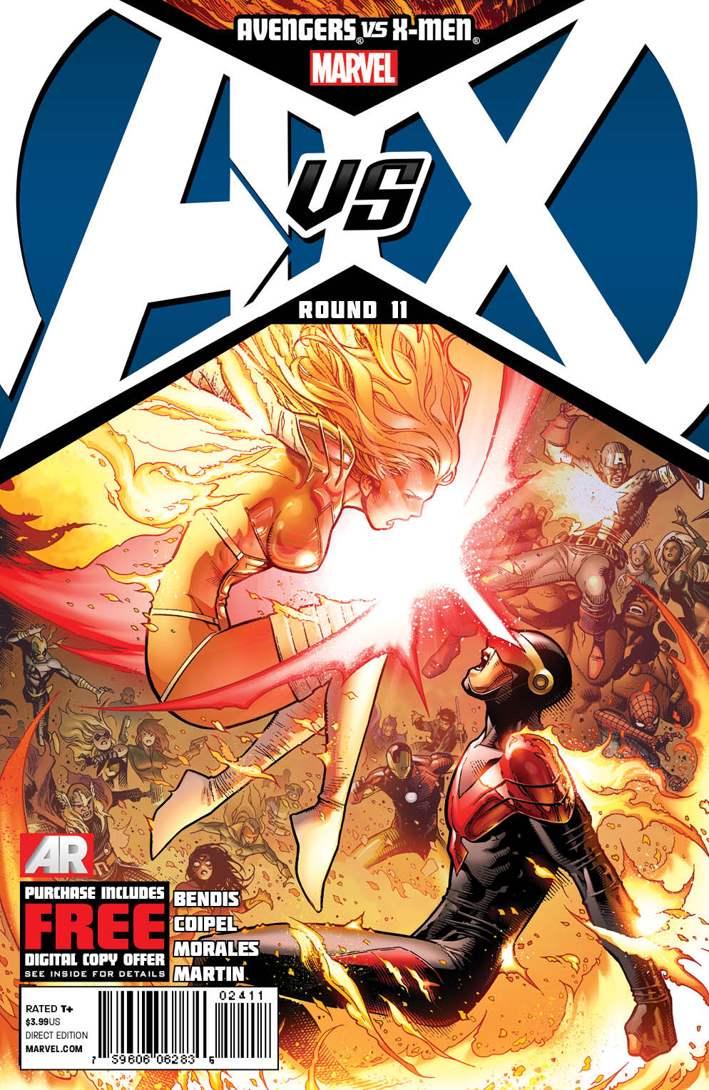 Your First Look At AVENGERS VS. X-MEN #11