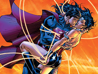 SUPERMAN LOVES WONDER WOMAN?