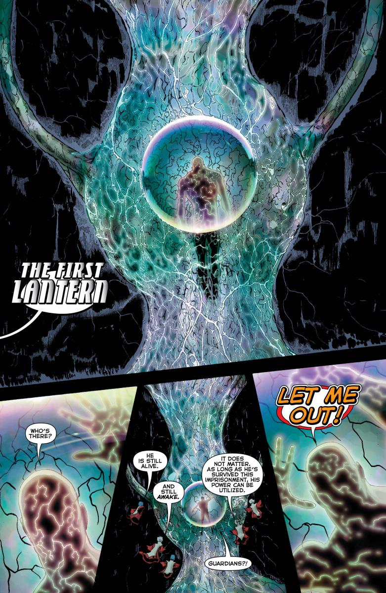 Who is THE FIRST LANTERN?