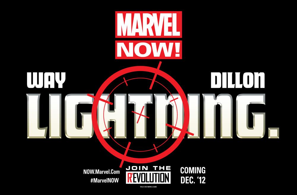 """MARVEL NOW teases """"Lightning"""""""