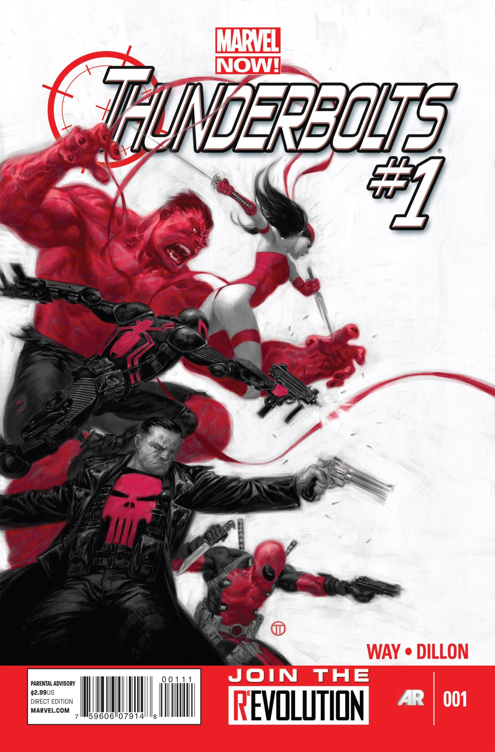 Marvel NOW! Presents Thunderbolt's Thunderbolts!