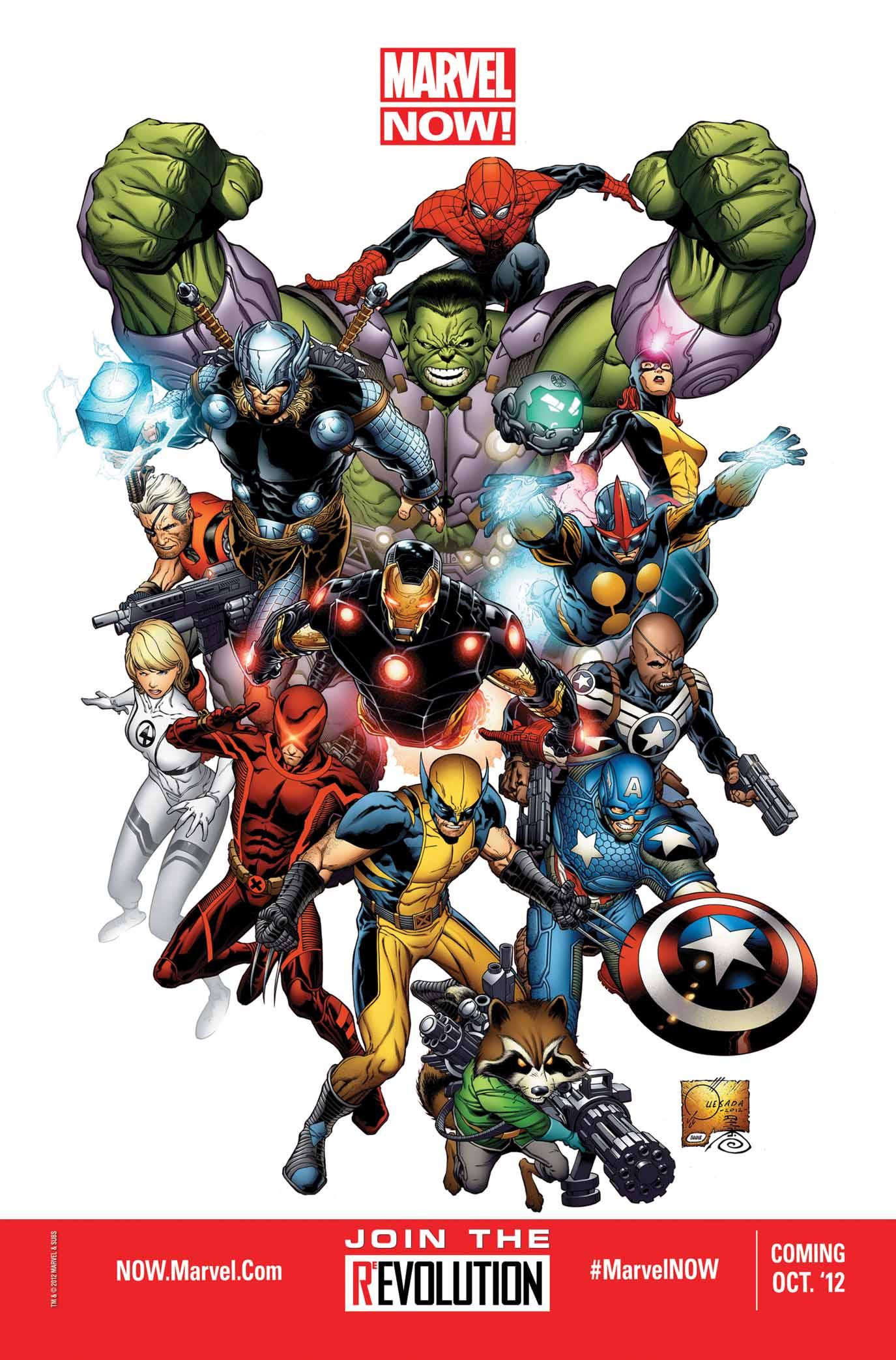 Joe Quesada Unveils Marvel NOW! On Jimmy Kimmel Live Tomorrow on ABC!
