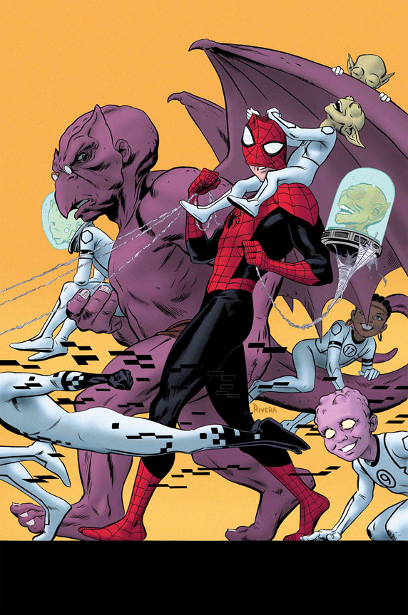 The FF Get Superior In AVENGING SPIDER-MAN #17!