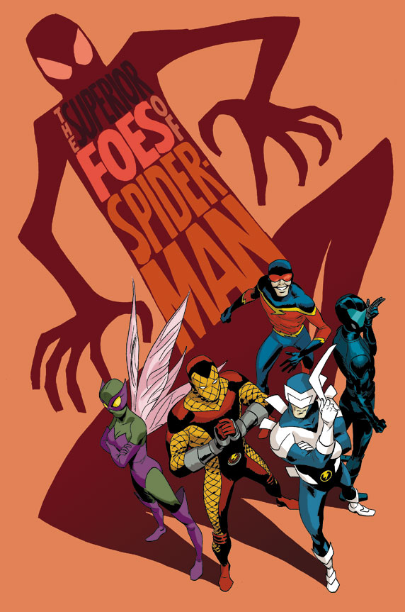 Spencer & Lieber upgrade the bad-guys with THE SUPERIOR FOES OF SPIDER-MAN ongoing