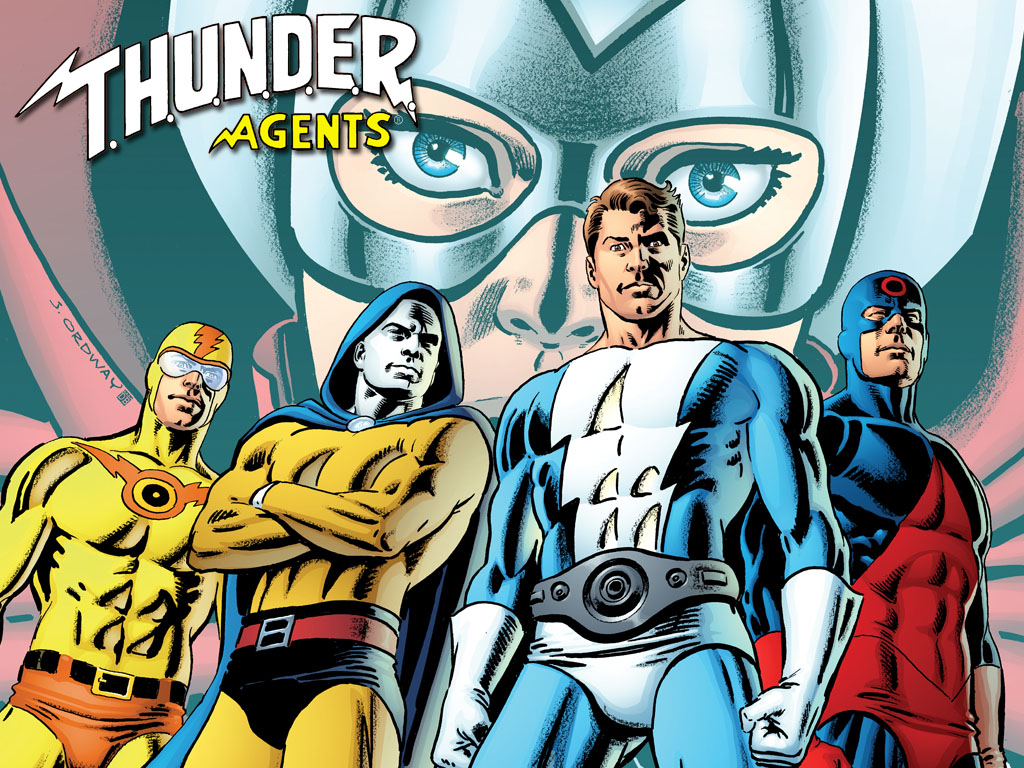 Phil Hester and Andrea Di Vito bring the T.H.U.N.D.E.R. AGENTS to IDW