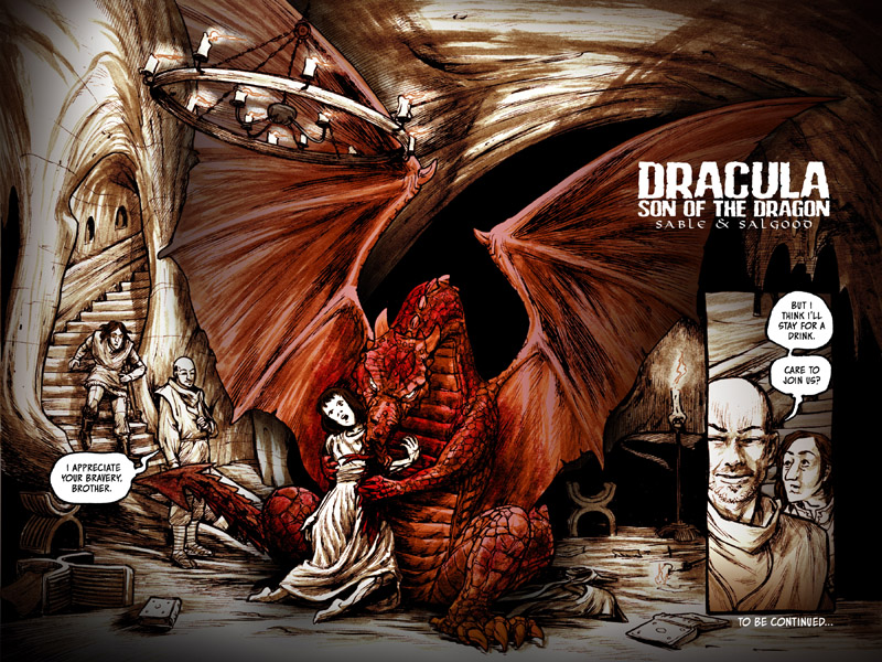 Sable, Salgood kickstart DRACULA: SON OF THE DRAGON