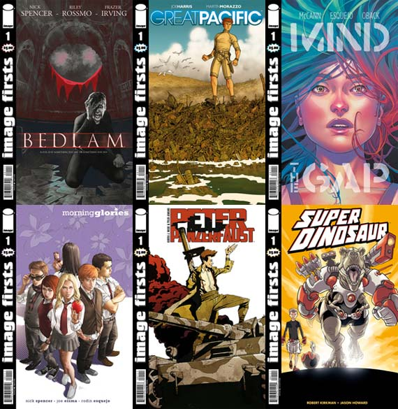 May brings the next round of $1 IMAGE FIRSTS EDITIONS