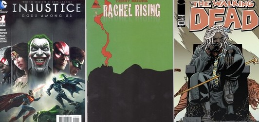 HOTTEST New Comic Back Issues During May 2013