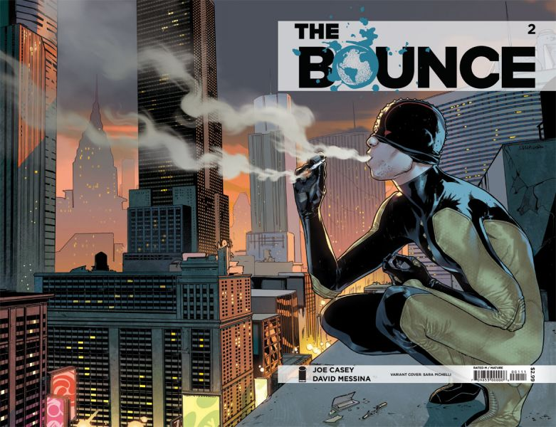 IMAGE'S BOUNCE #2 GETS SARA PICHELLI Varaint Cover!
