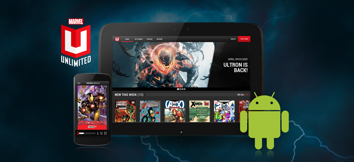 MARVEL UNLIMITED –The Ultimate Marvel Experience Now On Android™!