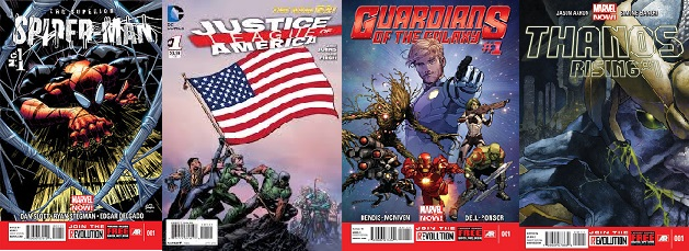 Comics Best Selling First Issues 2013