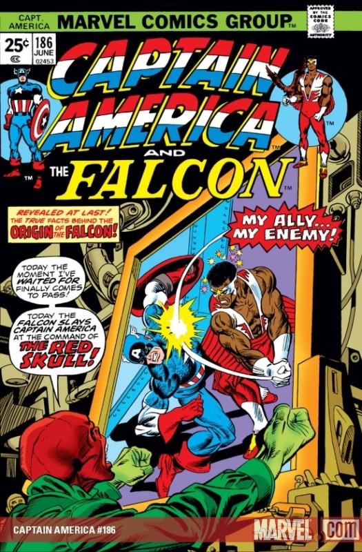 Captain America #186