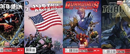 EVERY #1 ISSUE of 2013 – All New Comic Book Series Debuted This Year and Sales Stats