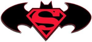 Superman Batman Logo DC