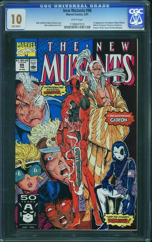 New Mutants #98 CGC 10.0