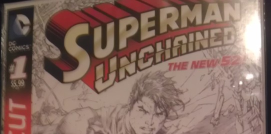 WIN A Superman Unchained: Director's Cut #1 SIGNED By Scott Snyder From InvestComics!!