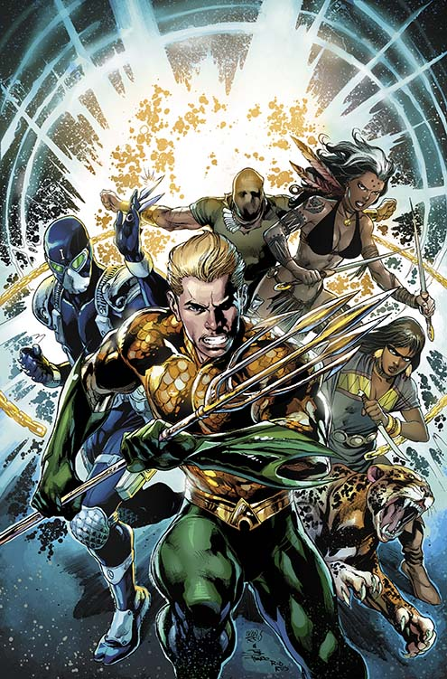 DC's seven seas expand with AQUAMAN AND THE OTHERS ongoing