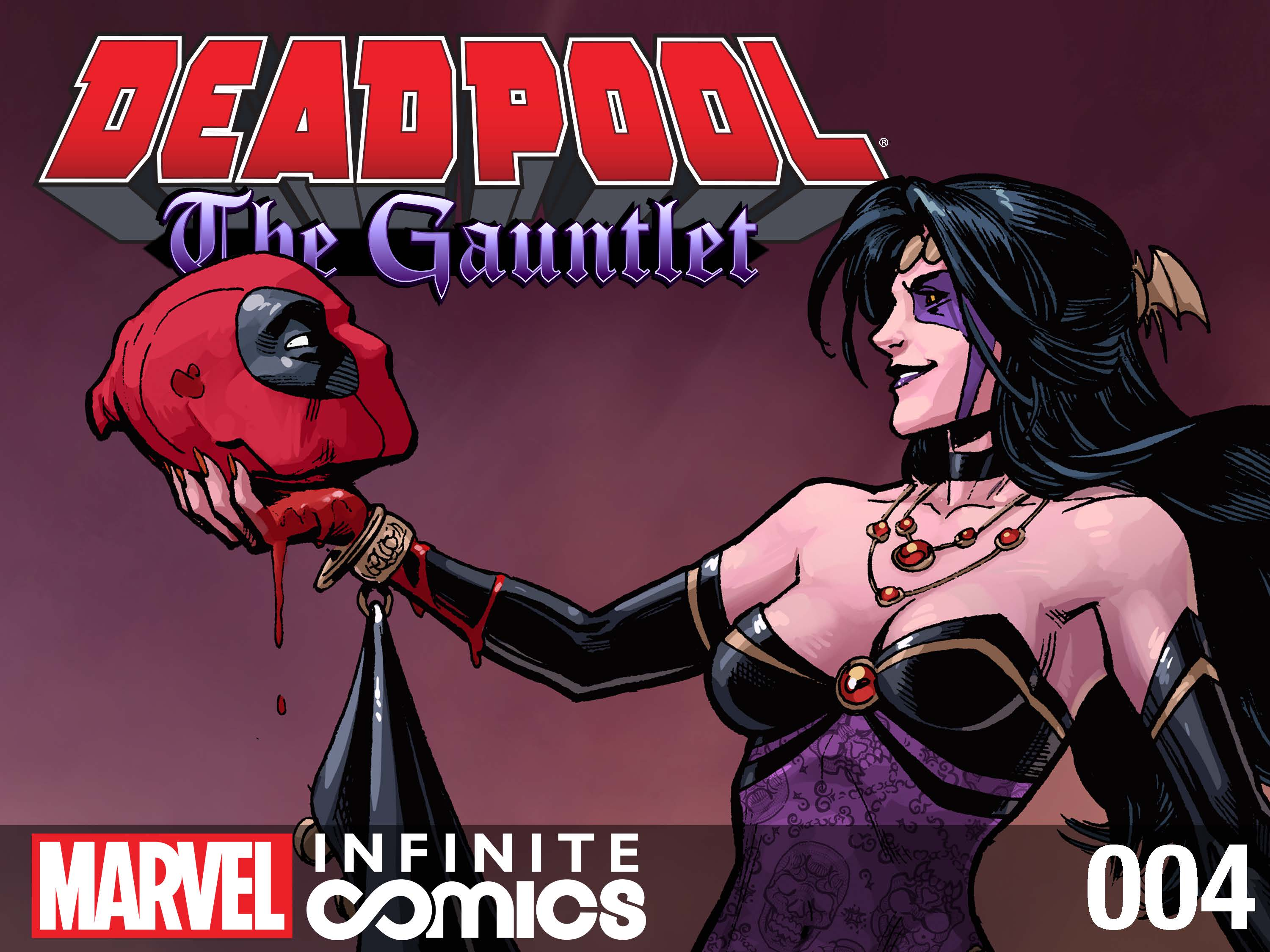 Here comes the bride! DEADPOOL: THE GAUNTLET #4 released today on INFINITE COMICS