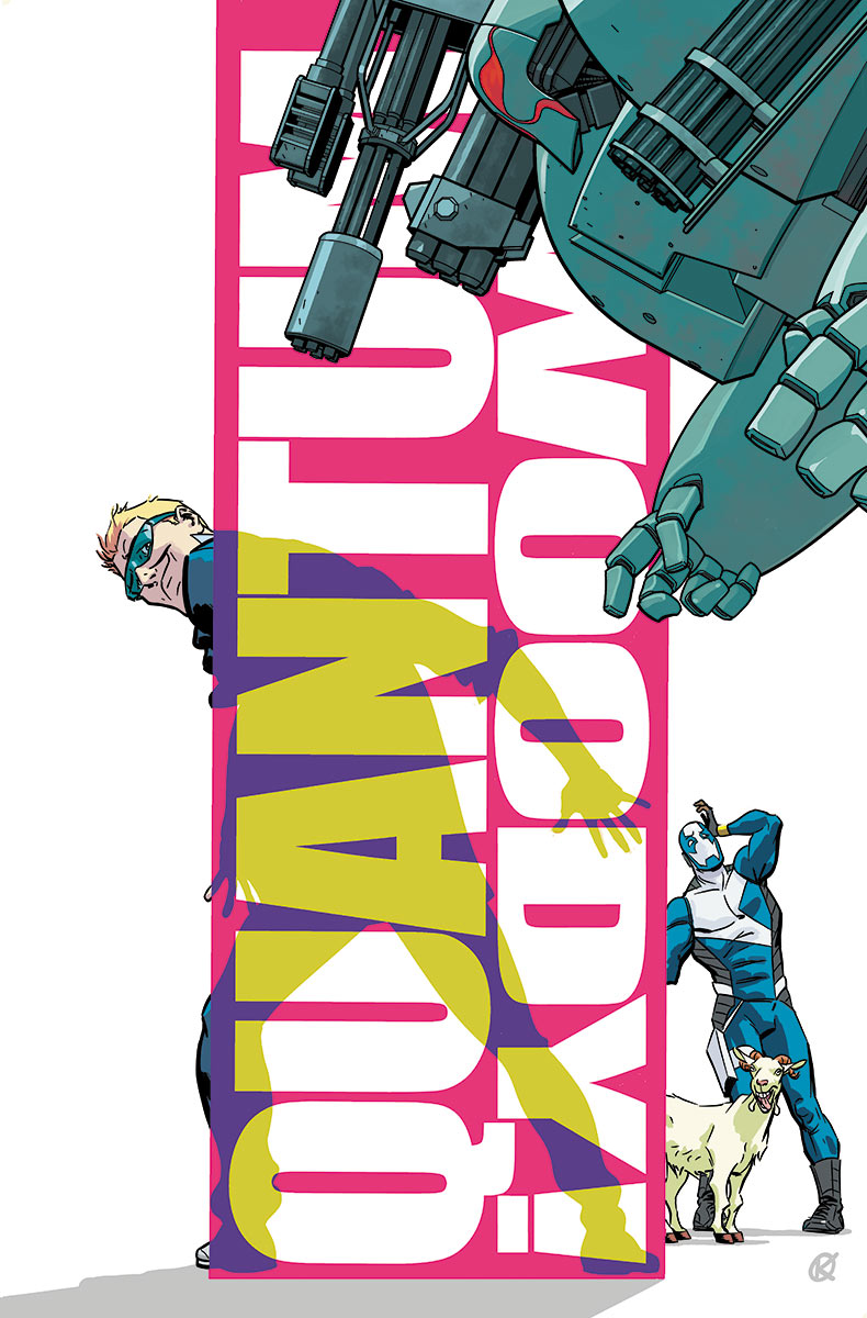 KANO Joins JAMES ASMUS for QUANTUM AND WOODY #9 – An All-New Jumping-On Point!
