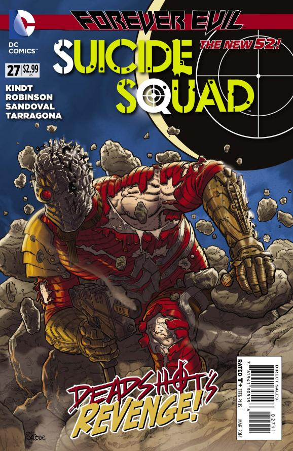 SUICIDE SQUAD #27 Preview