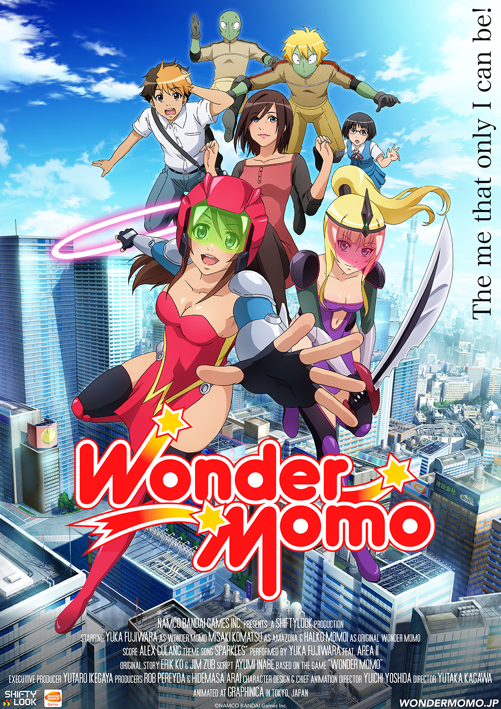 NAMCO BANDAI GAMES' SHIFTYLOOK BRINGS WONDER MOMO BACK WITH NEW ANIME, GAME AND MUSIC