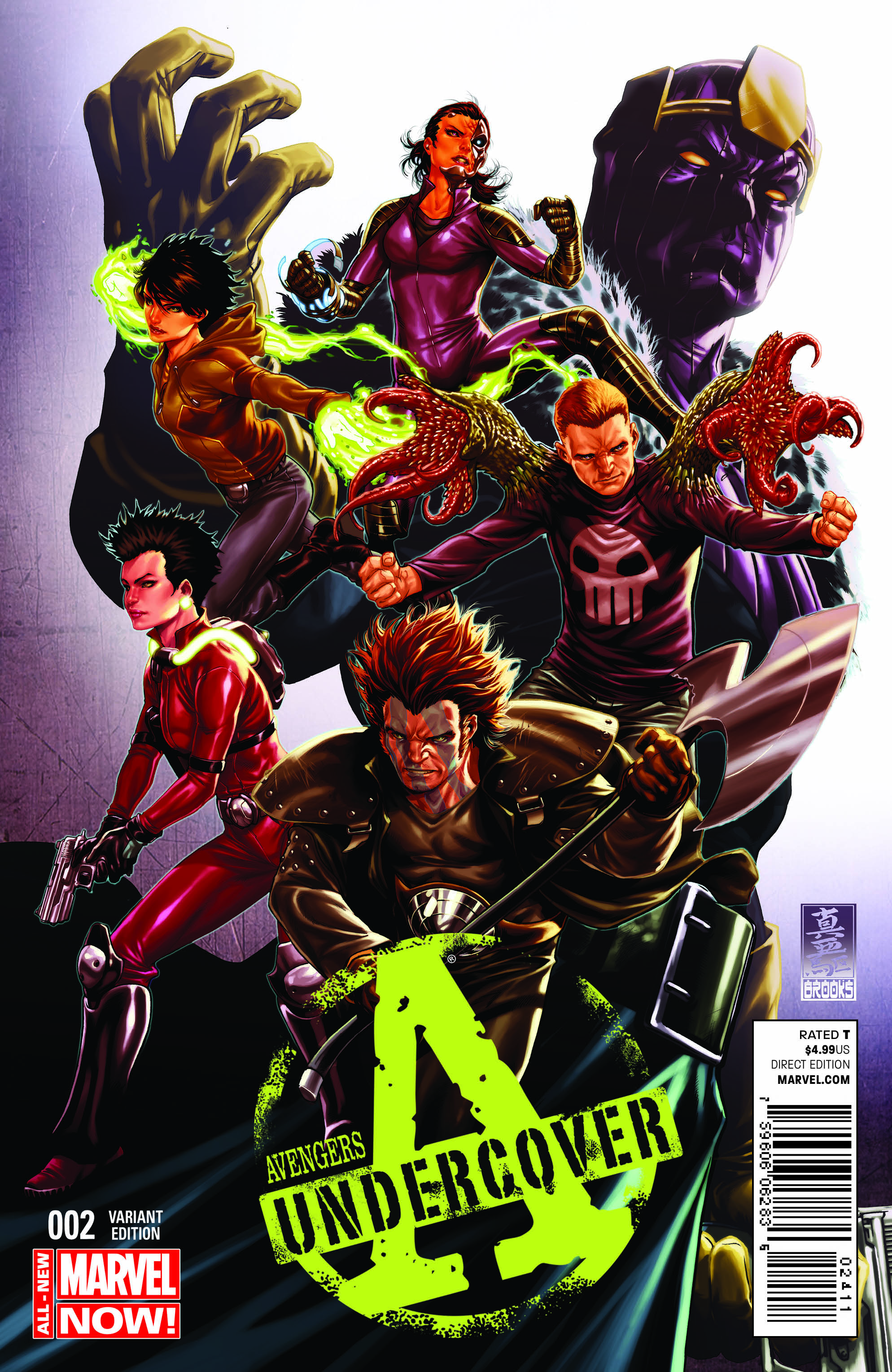 AVENGERS UNDERCOVER #1 First Look