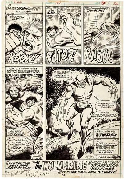 Incredible Hulk #180_First_Wolverine